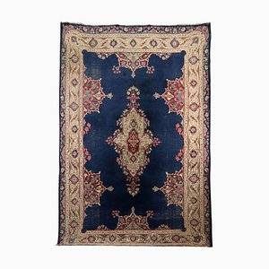 Vintage Wool & Cotton Carpet