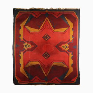Handgefertigter Vintage Teppich