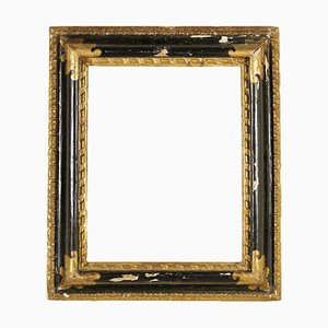Antique Italian Ebonized Wood Frame