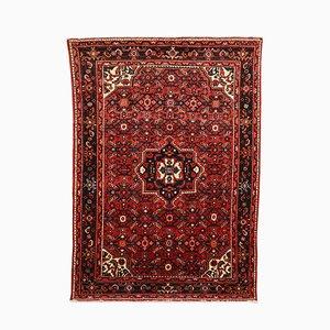Mid-Century Teppich aus Wolle & Baumwolle