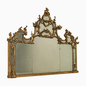 Antique Mantelpiece Mirror