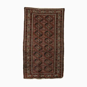 Vintage Afghan Wool Carpet