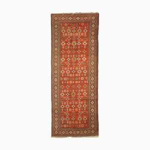 Vintage Middle Eastern Cotton & Wool Carpet