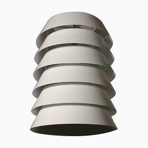 Vintage Lacquered Aluminium Ceiling Lamp, 1980s