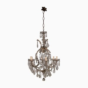 Antique Italian Glass Revival Marie Therese Chandelier
