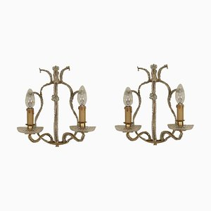 Antique Italian Sconces, Set of 2