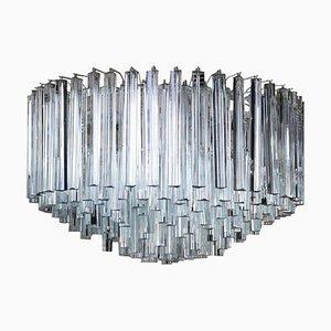 Lámpara de techo italiana vintage de Venini