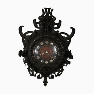 19th Century Fir Wall Clock