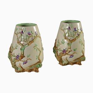 Vintage Vasen von Clarice Cliff, 2er Set