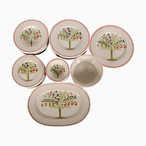 Porcelain Dinner Service from Villeroy & Boch, 1960s