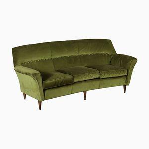 Vintage Italian Velvet Sofa