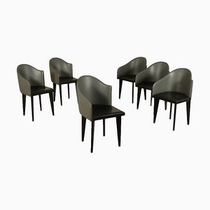 Chairs by Piero Sartogo & Nathalie Grenon for Saporiti, 1980s, Set of 6