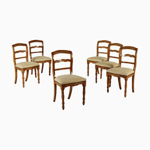 Italian Chairs, 1800s, Set of 6