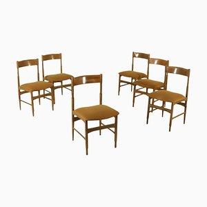 Chaises Vintage, 1960s, Set de 6
