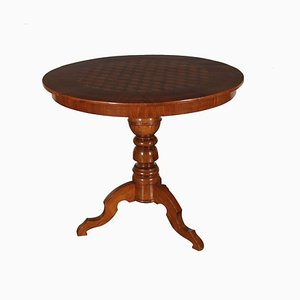 Round Italian Tripod Coffee Table, 1800s