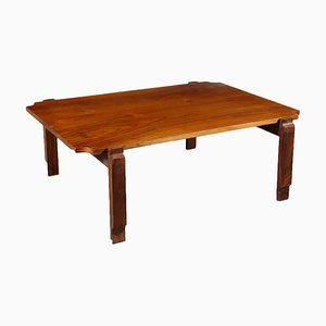 Vintage Rosewood Veneer Coffee Table, 1960s