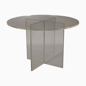 Vintage Italian Plexiglas Table