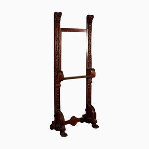 Antique Carved Easel