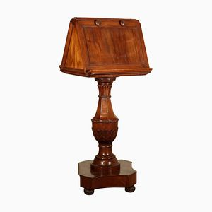 Antique Italian Cherry Swivel Lectern, 1800s