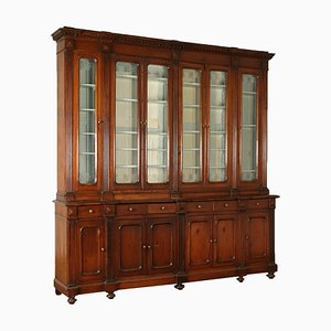 Large Antique Art Nouveau Bookcase
