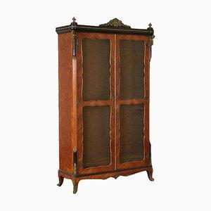 Antique Napoleon III Style Italian Bookcase