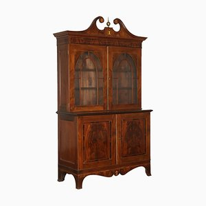 Antique English Mahogany Cabinet, 1700s