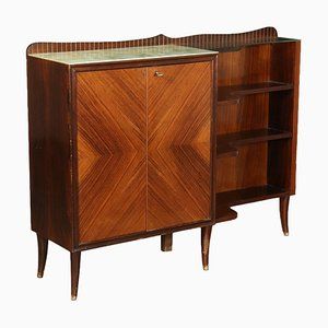 Mid-Century Cabinet with Shelving