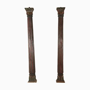 Antique Italian Columns, Set of 2