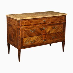 Neoclassical Italian Lombard Chest of Drawers