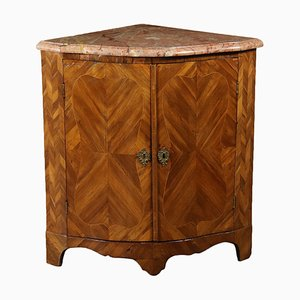Mueble esquinero francés antiguo