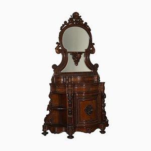 Mueble italiano antiguo de palisandro