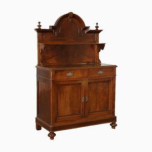 Antique Italian Walnut Cupboard