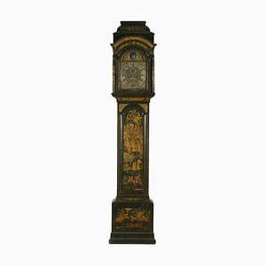 18th-Century Georgian Oak Grandfather Clock