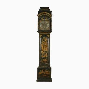 Reloj de caja alta georgiano de roble del siglo XVIII