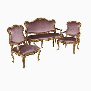 Juego de sillones antiguo