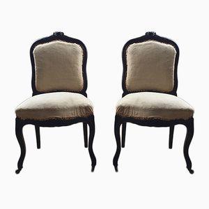 Antique Napoléon III Chairs, Set of 2