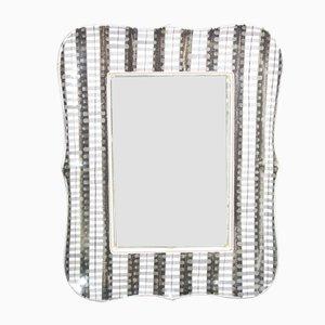 Specchio Faience vintage di Stig Lindberg per Gustavsberg
