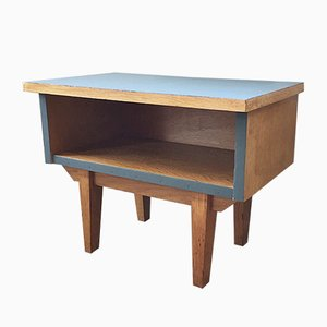 Kleiner Vintage Nachttisch aus Holz