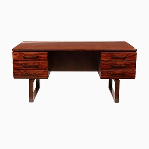 Danish Mid-Century Desk by Jensen & Valeur for Munch Mobler, 1960s