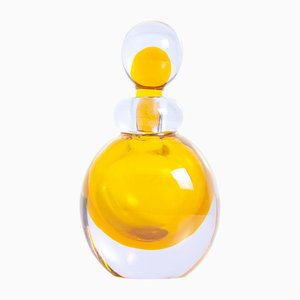 Murano Glass Perfume Bottle by Flavio Poli, 1950s
