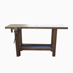 Small Vintage Workbench, 1960s