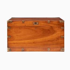 19th Century Antique Military Campaign Chest