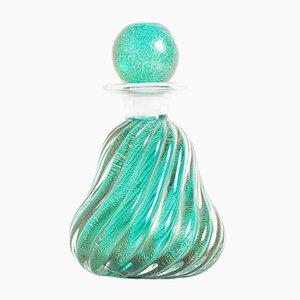 Bote de perfume de cristal de Murano de Archimede Seguso, años 50