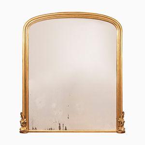 Antiker englischer Spiegel mit Ummantelung, 1870er