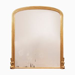 Antique English Over-mantle Mirror, 1870s