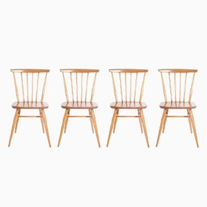 Vintage Chairs by Lucian Ercolani for Ercol, Set of 4