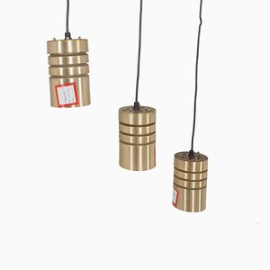Vintage Pendant Lamps, Set of 3