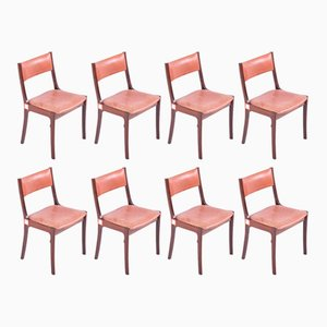Mid-Century Rosewood Dining Chairs, Set of 8