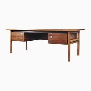 Danish Executive Rosewood Desk by Arne Vodder for Sibast, 1960s