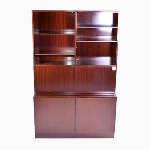 Vintage Danish Rosewood Bookcase from Omann Jun